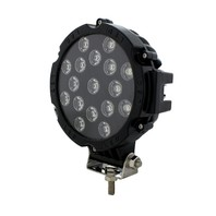 "17 High Power LED 7"" Spot/Off Road Light - Lumens 3100 - Jeep Sand Rail Buggy"
