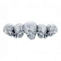 Universal Chrome Skull Accent