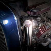 "Stainless 3"" X 10"" Radiator Overflow Tank"