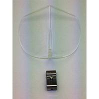 Vintage Style Clear Hood BI-FLECTOR Windshield Reflector