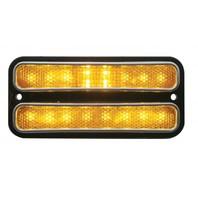 1968 - 1972 Chevy Truck LED Parking Light, Amber Lens, EA