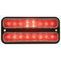 1968 - 1972 Chevy Truck LED Parking Light, Red Lens, EA