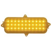 1960 -1966 Chevy Truck LED Parking Light, Amber Lens, EA
