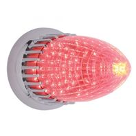 UPI CTL5913LED 1959 Cadillac Flush Mount LED Tail Lamp Assembly With Red Lens