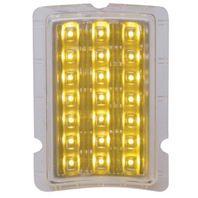 UPI FPL4001LED 1940 Ford LED Turn Signal and Parking Light - Amber LED