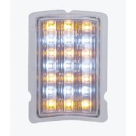 UPI FPL4002LED 1940 Ford LED Turn Signal and Parking Light - Amber + White LED