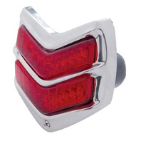 1940 Ford LED Tail Light Assembly With Stainless Steel Rim, Each