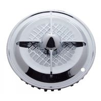 "UPI SHC02-4 15"" Chrome Four-Bar Hub Cap"