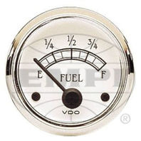 VW BUG AIR COOLED, VDO COCKPIT ROYAL FUEL GAUGE 10- 180 OHMs  301733