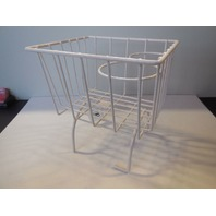 Retro Looking Wire Storage Basket Cup Holder Fits All Vw Beetle Console WHITE