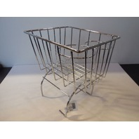Retro Looking Wire Storage Basket Cup Holder Fits All Vw Beetle Console CHROME