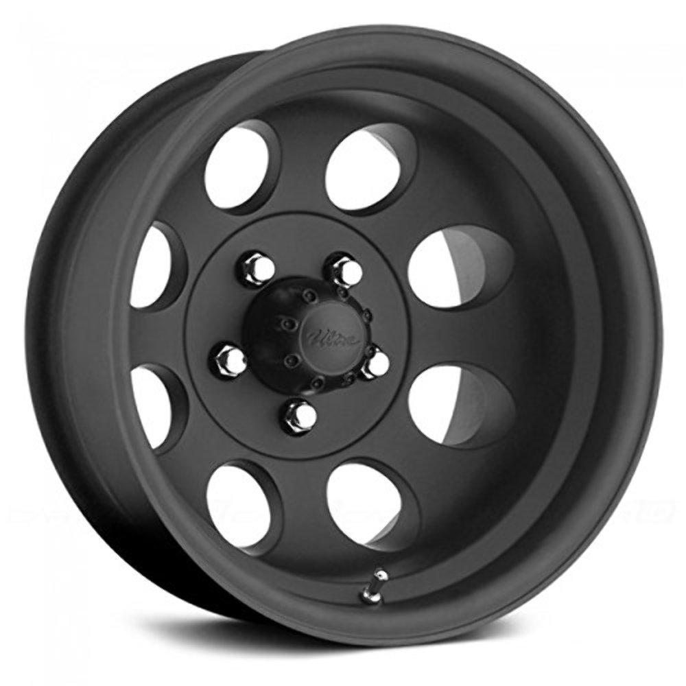 pacer 164b 5765 matte black wheel size wheel size 15x7 bolt pattern 5x1114 3 w ebay. Black Bedroom Furniture Sets. Home Design Ideas