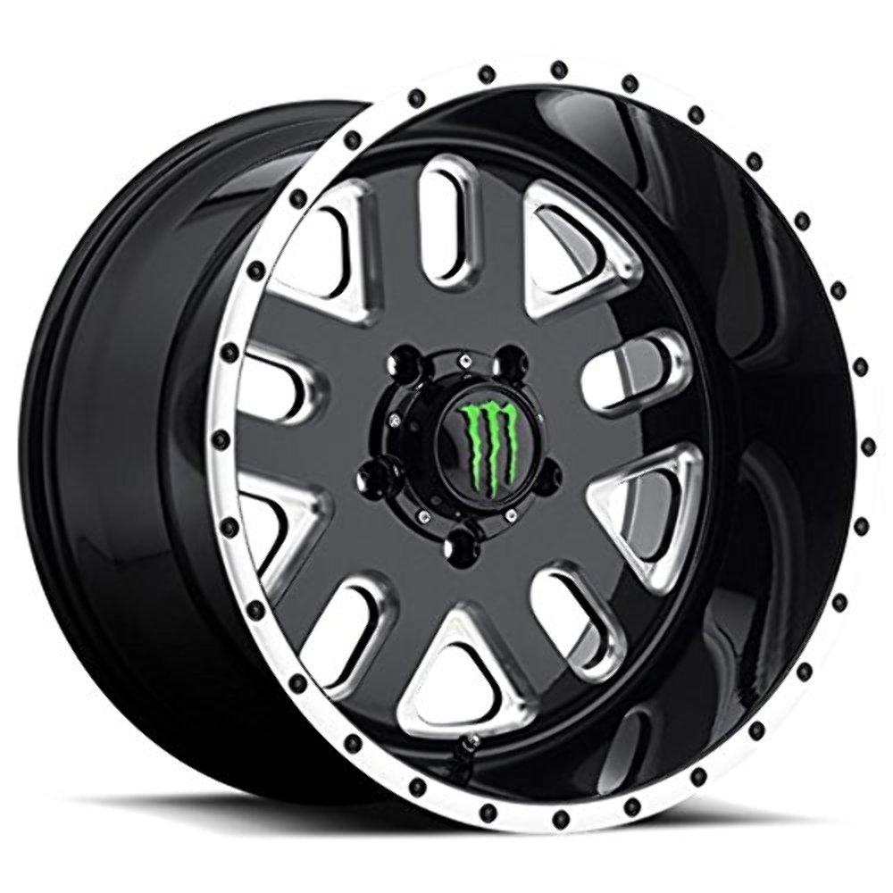 Monster Edition 539bm 20x9 5x139 7 18mm Black Milled