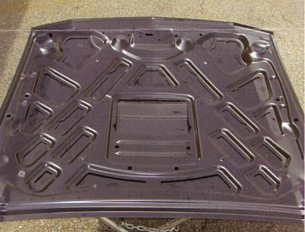Cowl Induction Hood Air Pan : New  ford mustang quot ram air style cowl