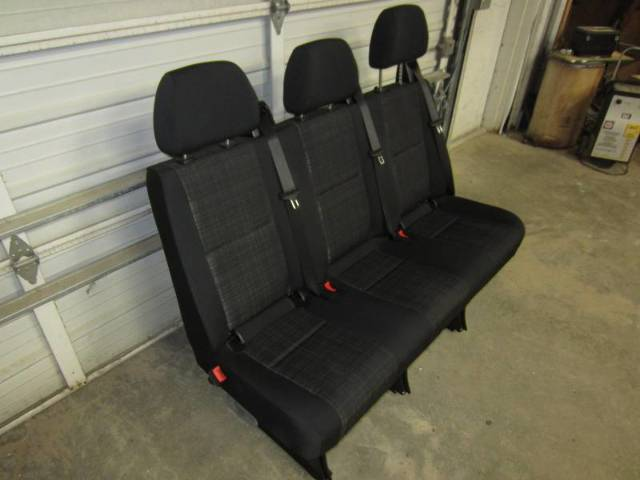 14 16 Mercedes Benz Sprinter Van 3 Passenger Black Cloth