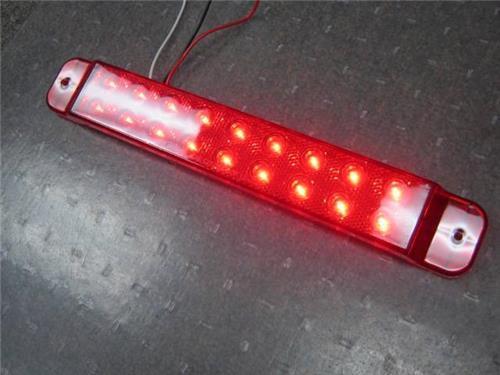Red Led Brake Signal Running Light Bar Brake Light 18 Led