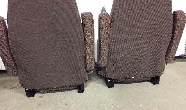 Sears Air Seat Sa33501 : M freightliner semi truck brown cloth sears series air