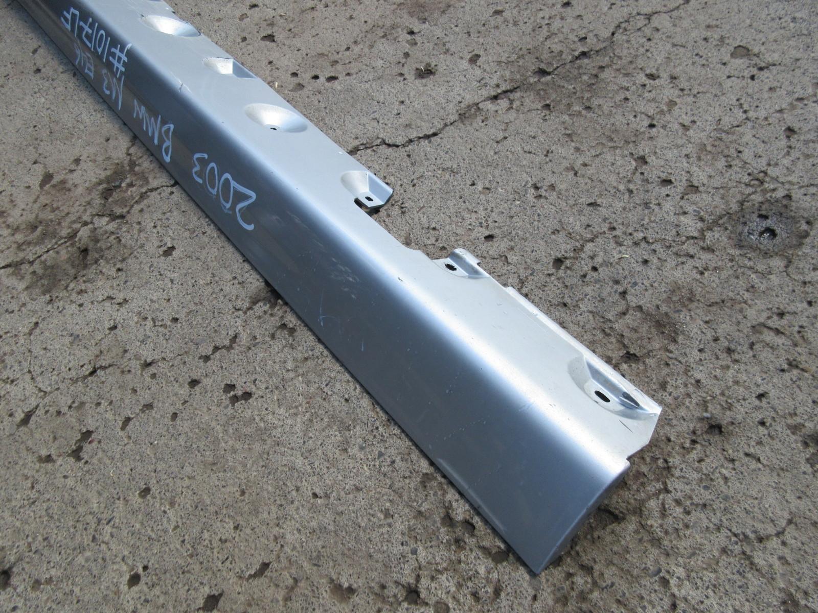 2003 Bmw M3 E46 1017 Left Driver Side Skirt Rocker Panel Moulding 51122496649 Pk Auto Parts Inc