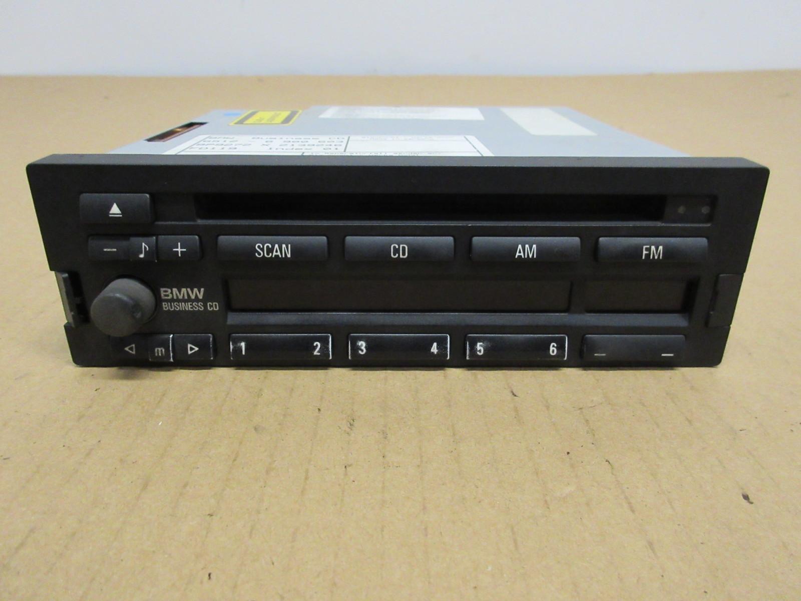 2000 bmw z3 m roadster e36 1020 business cd player radio. Black Bedroom Furniture Sets. Home Design Ideas