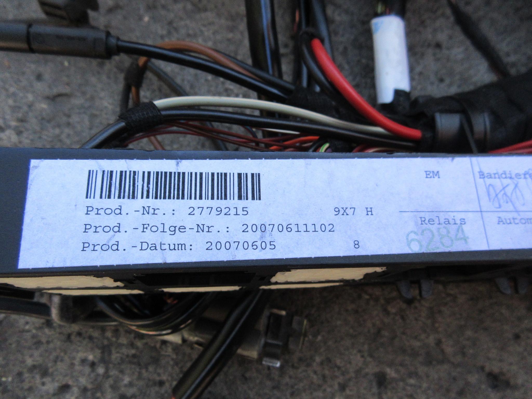 Porsche Wiring Harness Automotive Diagram 944 Loom 07 911 Turbo 997 1031 997tt Engine Dme Wire 356