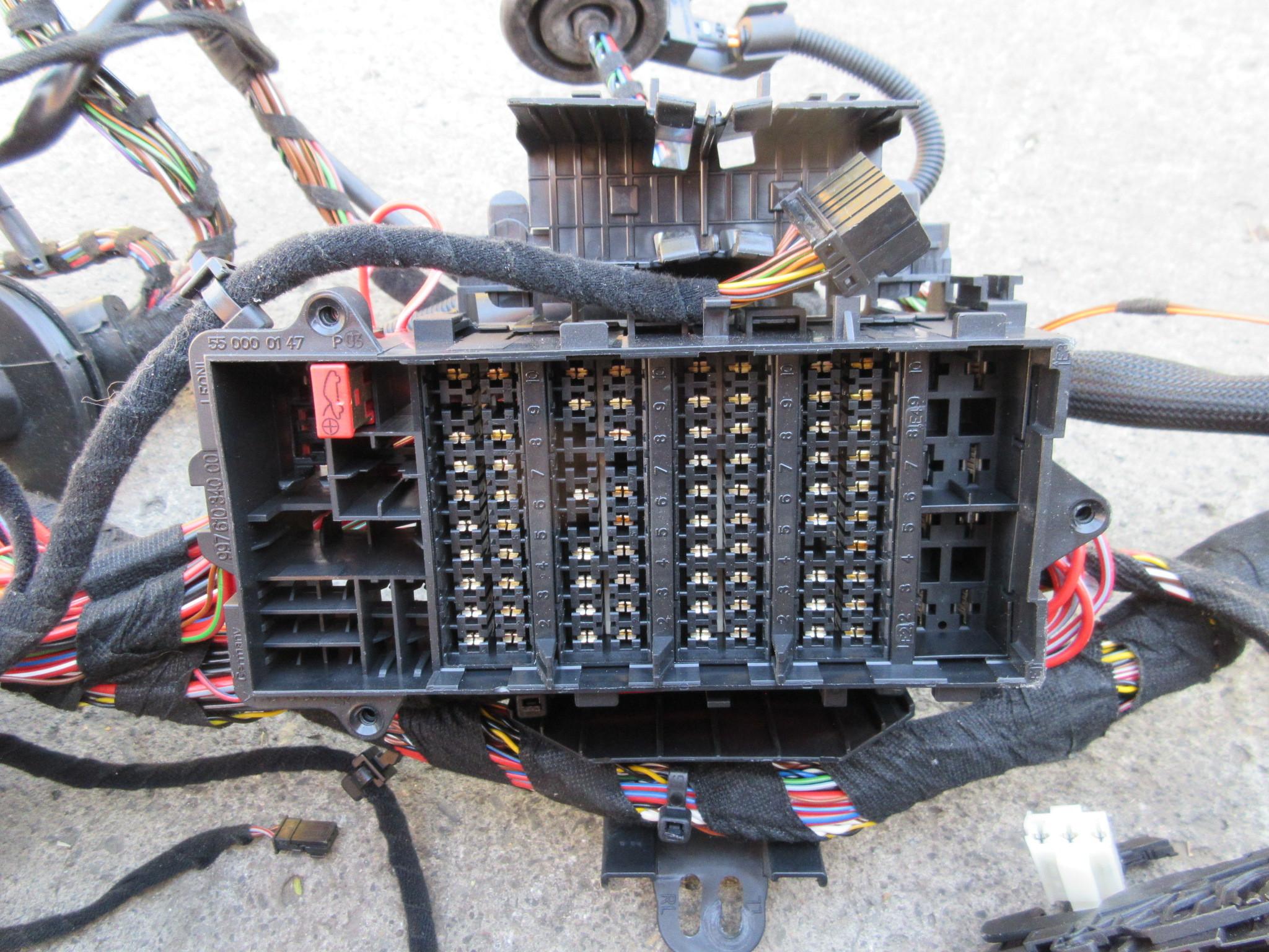 07 Porsche 911 Turbo 997  1031 997tt Main Interior Wire