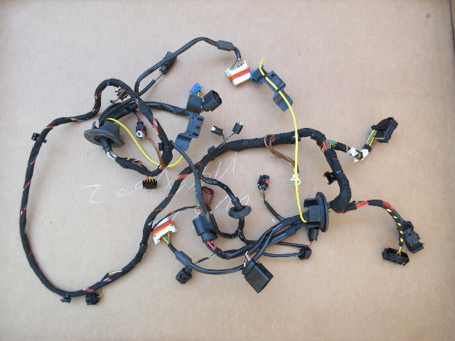 07 porsche 911 turbo 997 1031 front headlight wire wiring harness rh pkautoparts com Hyundai Wiring Harness Model A Wiring Harness