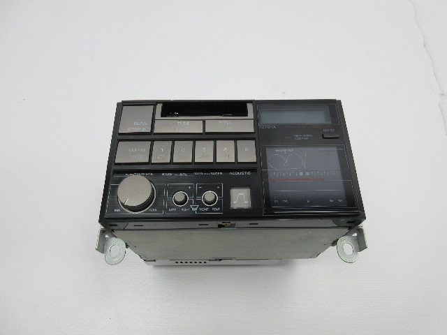 1986-1992 Toyota Supra MK3 #1042 Original Factory Radio Cassette Player *RARE*