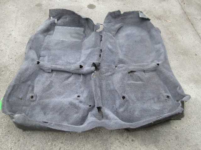 1986-1992 Toyota Supra MK3 #1042 Grey Main Interior Carpet