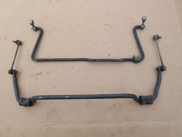 1999 BMW Z3 M Roadster E36 #1043 Front & Rear Stabilizer Sway Bars W/ Links OEM