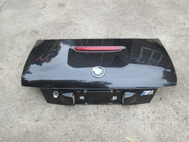 2000 BMW Z3 M Roadster E36 #1044 Trunk Lid Cosmos Black