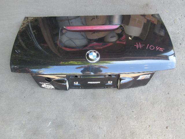 1998 BMW Z3 M Roadster E36 #1045 Trunk Lid Cosmos Black