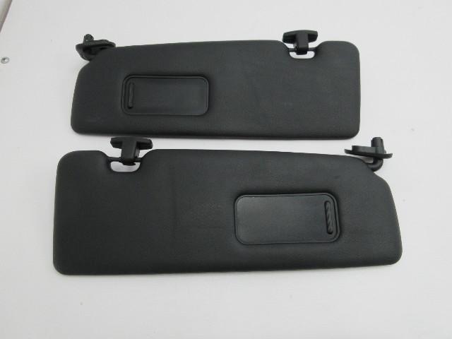 01-06 BMW M3 E46 Convertible #1047 Black Sunvisors Pair