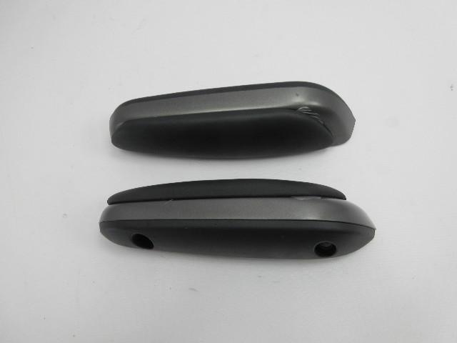 01-06 BMW M3 E46 #1047 Convertible Rear Quarter Panel Armrest Pair Black