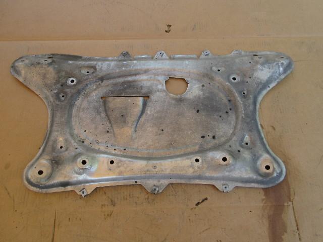 01-06 BMW M3 E46 Convertible #1047 Engine Skid Splash Guard Plate 51717893609