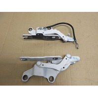 08 BMW M3 Convertible E93 E92 #1015 Hood Hinge Set White 7115263
