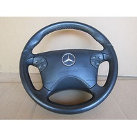 2000 Mercedes Benz E55 AMG W210 #1005 Leather Sport Steering Wheel W/ Airbag