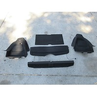 10 Mini Cooper S R56 #1003 Full Complete Rear Trunk Carpet Set W/ Cargo Shelf