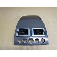 07 Aston Martin V8 Vantage Roadster #1014 Upper Dashboard Trim Bezel Vents