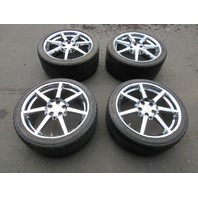 "Aston Martin V8 Vantage OEM 19"" Chrome Wheels & Tires"