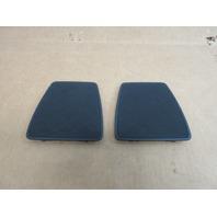 2013 BMW 335is E92 #1018 Rear Interior Deck Shelf Speaker Grill Set 51467139303