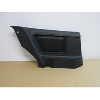 1995 BMW 840i E31 #1019 Left Driver Side Black Nappa Leather Quarter Panel Trim