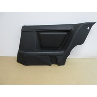 1995 BMW 840i E31 #1019 Right Side Black Nappa Leather Quarter Panel Trim
