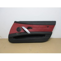2006 BMW Z4 M Roadster E85 #1023 Right Passenger Imola Red Door Panel Card