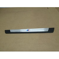 2006 BMW Z4 M Roadster E85 #1023 Right OEM Door Sill Scuff Plate 51477016654
