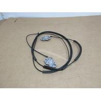 2006 BMW Z4 M Roadster E85 #1023 Hood Latch Lock Set W/ Cable 51237172085