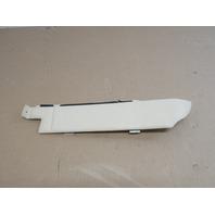 04 Lamborghini Murcielago #1025 Left Interior Ivory Quarter Vertical Trim Panel