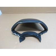 04 Lamborghini Murcielago #1025 Black Dashboard Instrument Pod Trim Cover