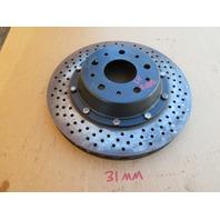 04 Lamborghini Murcielago #1025 Rear 2-Piece Brake Rotor Disk 32016285