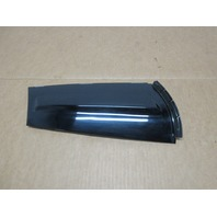 2012 Mini Cooper S R56 #1027 RH Exterior C Pillar Quarter Trim Black  51137146102
