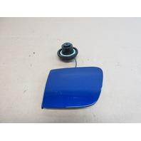 2005 Chevrolet Corvette C6 #1030 Fuel Gas Filler Door Cap 10378643 Blue